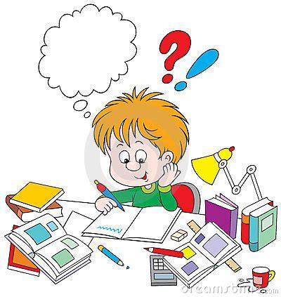 Helping your child math homework